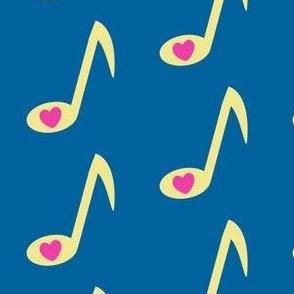 I Love Music! - Rock & Royalty - Tropical Fabungalow - © PinkSodaPop 4ComputerHeaven.com