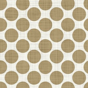 Distressed Dots in Latte