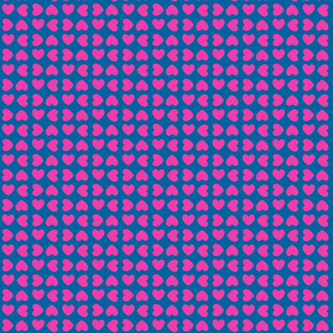 Little Love Hearts Squared! - Rock & Royalty!  - Tropical Fabungalow - © PinkSodaPop 4ComputerHeaven.com fabric by pinksodapop on Spoonflower - custom fabric