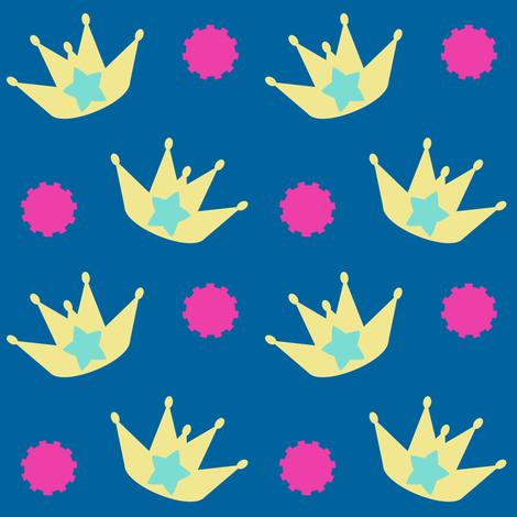 King Of Rock! - Tropical Fabungalow! - © PinkSodaPop 4ComputerHeaven.com fabric by pinksodapop on Spoonflower - custom fabric