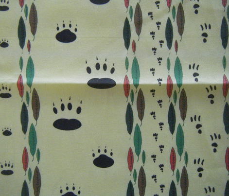 Paw Prints - Mother and Child - smaller version