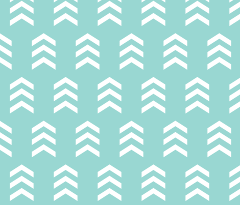 Simple Chevron Print Seafoam Wallpaper Nicoleporter
