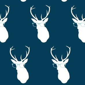 Smarty Pants Deer, Navy