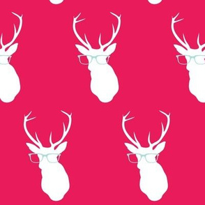 Smarty Pants Deer, Red