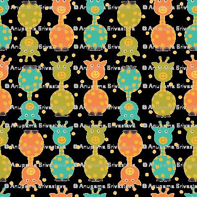 baby dots and giraffe