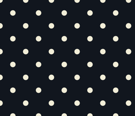 black dot fabric by alihenrie on Spoonflower - custom fabric