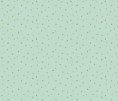 gruff flowers fabric by doodleandhoob on Spoonflower - custom fabric