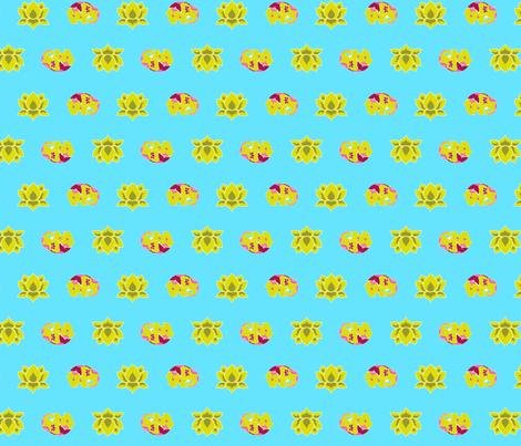 patternElephants fabric by thelazygiraffe on Spoonflower - custom fabric