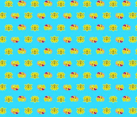 patternElephants fabric by thelazygiraffe on Spoonflower - custom fabric