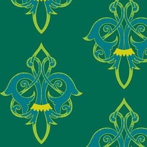 Art Nouveau47-teal