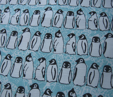baby ice penguins aqua