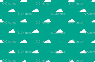 clouds in emerald