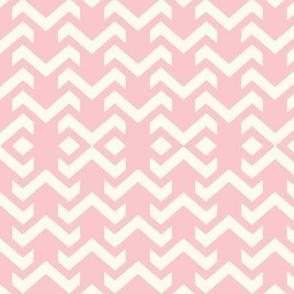 chevron baby pink