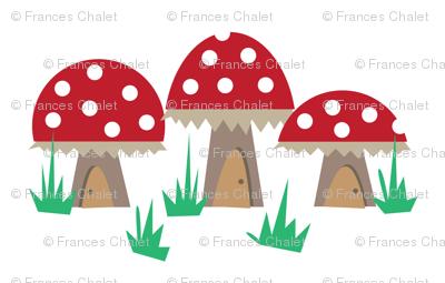 Mushroom Houses.