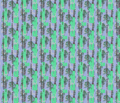 Thin tree fabric by slumbermonkey on Spoonflower - custom fabric