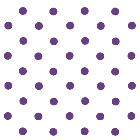 purple polka dots fabric by ragan on Spoonflower - custom fabric