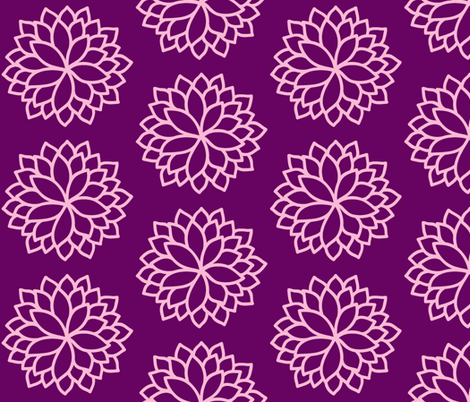 Purple Punch fabric by thepinkhome on Spoonflower - custom fabric