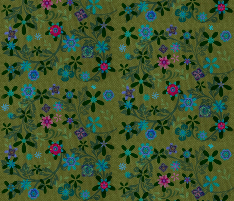 Spring Night  fabric by ninakita on Spoonflower - custom fabric