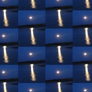 Moon Over Lake Anna
