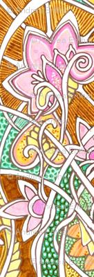 Felt Tip Markers Celebrate Spring (horizontal stripe)