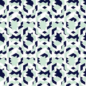 Small Off-set Geometric Pattern