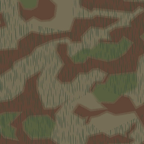 Marsh 44 Camo, Hard Edge with Fluffy Overprint