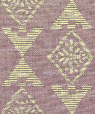 Native Sun - lavender, off-white