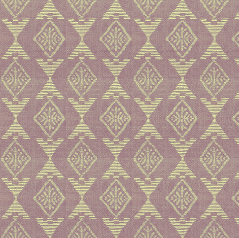 Native Sun - lavender, off-white fabric by materialsgirl on Spoonflower - custom fabric