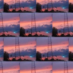 Sunset After Baseball