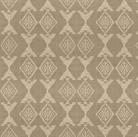 Native Sun - taupe, off-white fabric by materialsgirl on Spoonflower - custom fabric