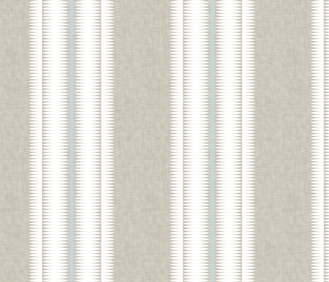 Frequency Stripe White fabric by crisbucknall on Spoonflower - custom fabric