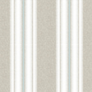 Frequency Stripe White