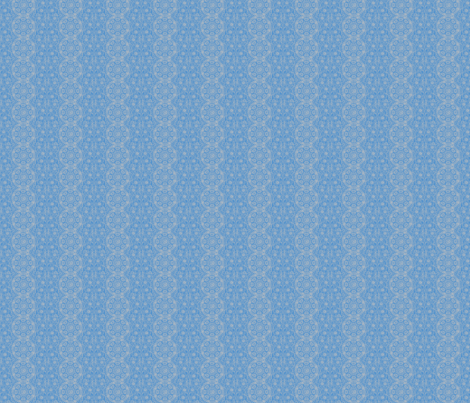 Blue Brocade fabric by amyvail on Spoonflower - custom fabric