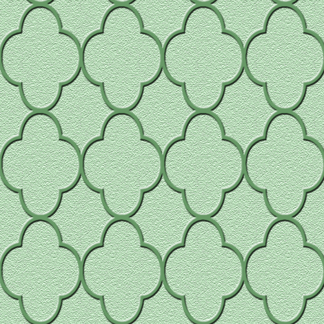 quatrefoil olive green fabric by krs_expressions on Spoonflower - custom fabric