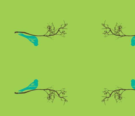 blue_bird_centered_for_lumbar_pillow-ch fabric by balanced on Spoonflower - custom fabric