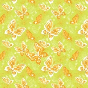 seamless pattern with butterfly