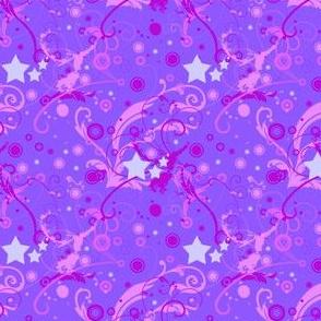 Starcrossed Universe - Beautyberry Nebula (micro print)  -  © PinkSodaPop 4ComputerHeaven.com