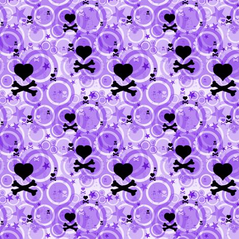 PunkSodaPop - Grape Fizzy -  © PinkSodaPop 4ComputerHeaven.com fabric by pinksodapop on Spoonflower - custom fabric