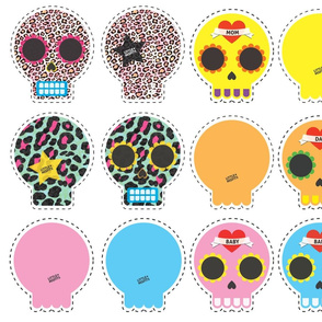 Little Misfits - Sugarskull Pillows