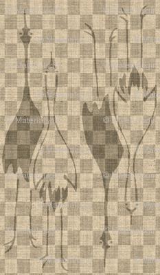 Crane Mates checkered - shades of grey