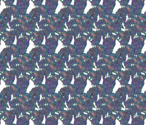 Nature's kaleidoscope fabric by petitesirene on Spoonflower - custom fabric