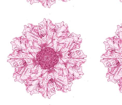 pretty pink petals  fabric by petitesirene on Spoonflower - custom fabric