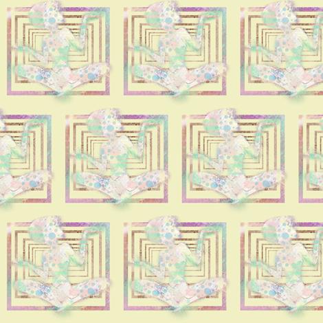 I keep my zen in a box fabric by mezzime on Spoonflower - custom fabric
