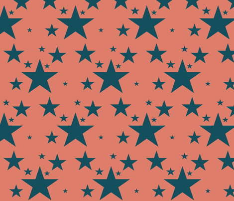 star fabric by chelsearabbit on Spoonflower - custom fabric
