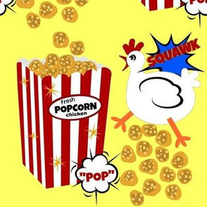"Fresh ""POP"" Corn Chicken"
