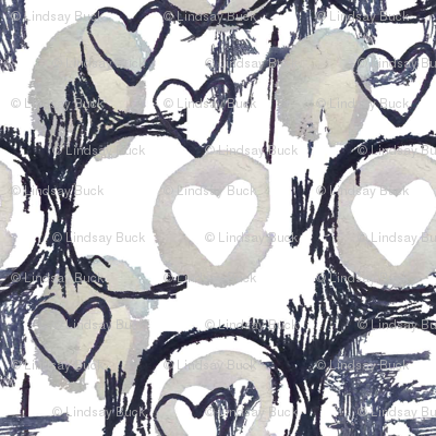 Mark making Hearts