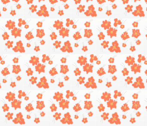 Flowers fabric by say_eye_ on Spoonflower - custom fabric