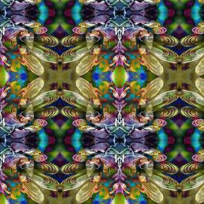 Mosquito Paw Kaleidoscope