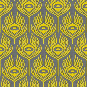 peacock_grey_yellow