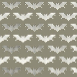 Cross stitch bat